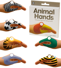 Animal Hands Temporary Tattoos