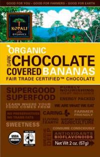 Kopali Organics Chocolate Covered Bananas